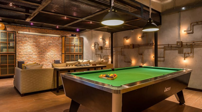 Villa Ananda - Pool table