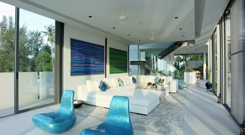 Villa Aqua - Living area