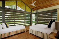 Villa Essenza - Open air bedroom