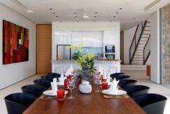 Villa Amarelo - Dining area design