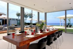 Villa Amarelo - View from dining area