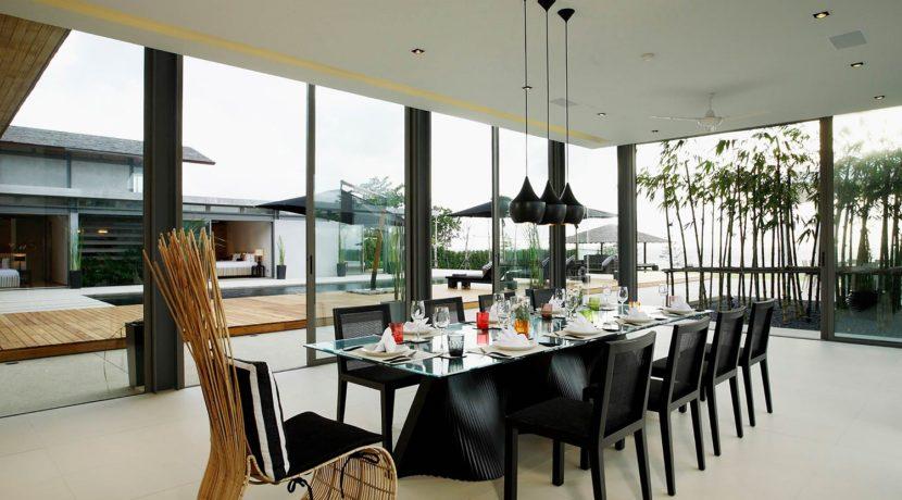 Villa Essenza - Dinning area stunning view