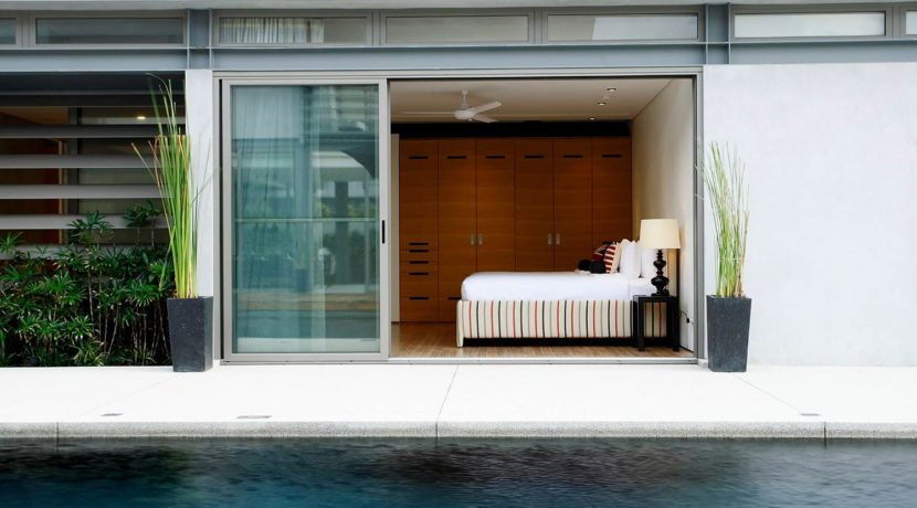 Villa Essenza - Poolside bedroom