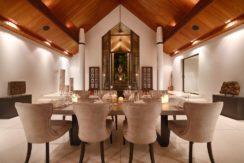 Villa Naam Sawan - Indoor Dining Area