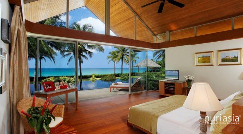Villa Baan Taley Rom - Bedroom Sea View