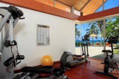 Villa Baan Taley Rom - Gym Area