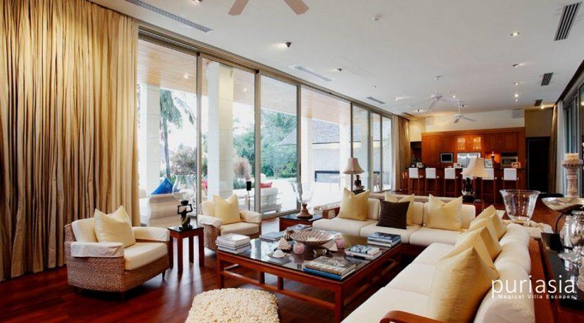 Villa Baan Taley Rom - Magnificent Living Area