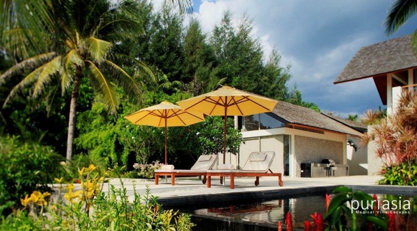 Villa Baan Taley Rom - Pool Deck loungers