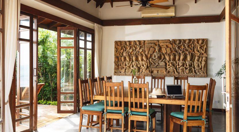 Villa Waimarie - Dining room