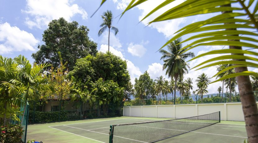 Villa Waimarie - Private tennis court