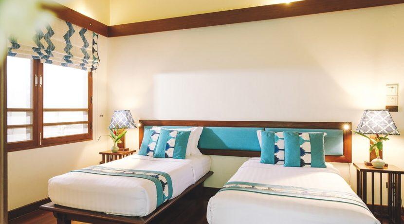 Villa Waimarie - Twin guest room 1