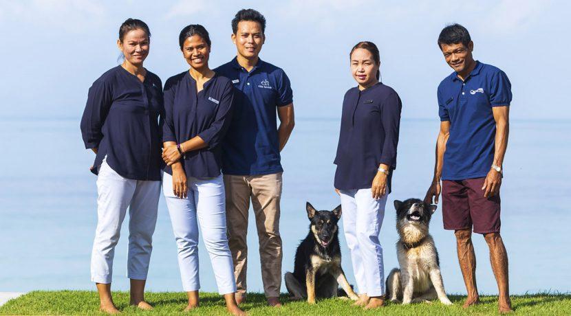 Villa Waimarie - Villa crew