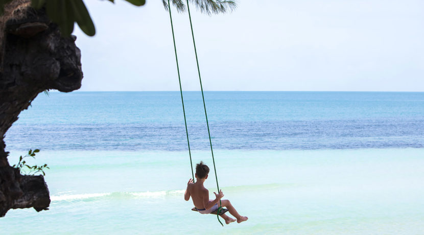 Villa Akuvara - Beach swing