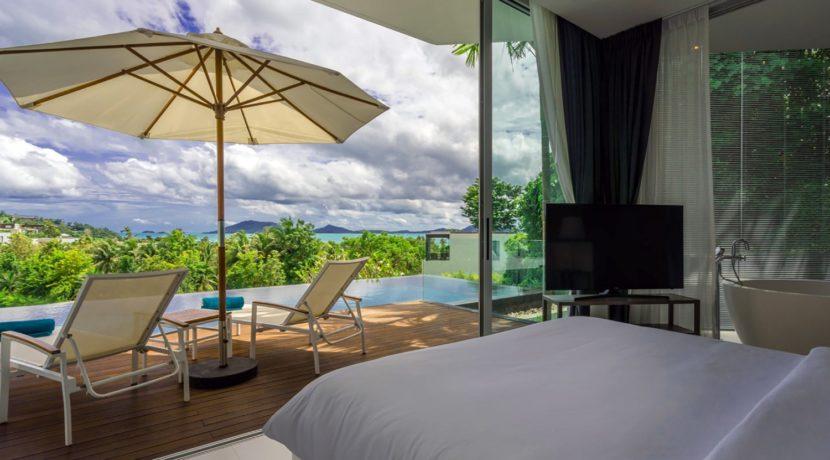 Villa Abiente - Bedroom stunning view