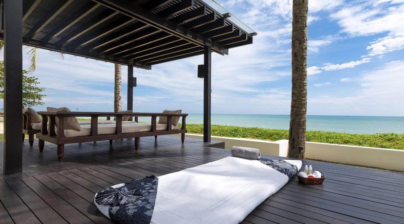 Villa Jia - Outdoor massage setup