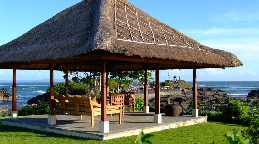 Impiana Villa Canggu - View from Poolside Bale