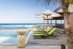 1. Villa Bayu Gita Beachfront - Poolside