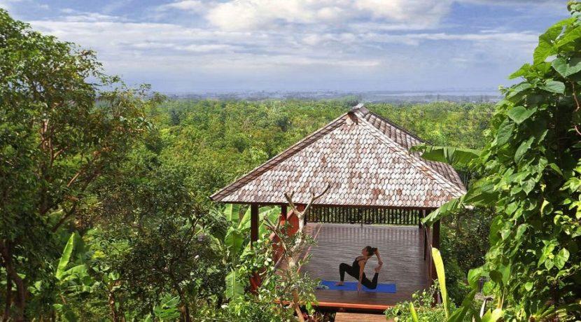 The Longhouse Villa - Yoga Bale