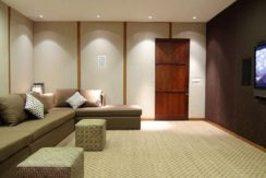 The Longhouse Villa - Media Room