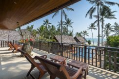 Baan Puri - Stunning view from ocean view suites