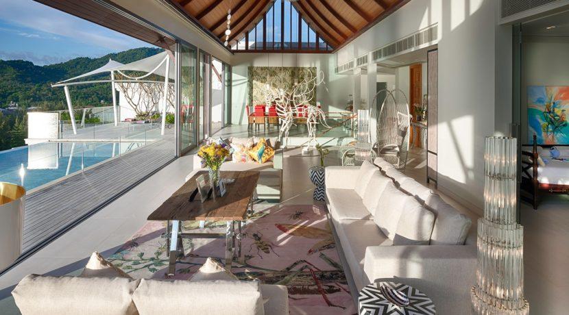 Villa Rodnaya - Living Area