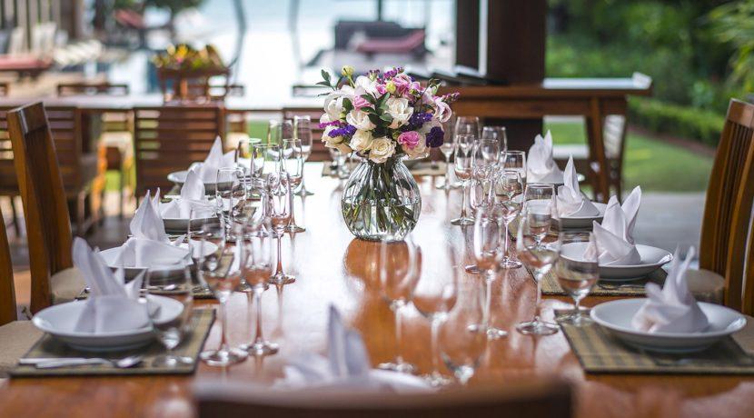 Baan Puri - Dining setting