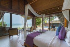 Baan Puri - Lotus beachfront suite outlook