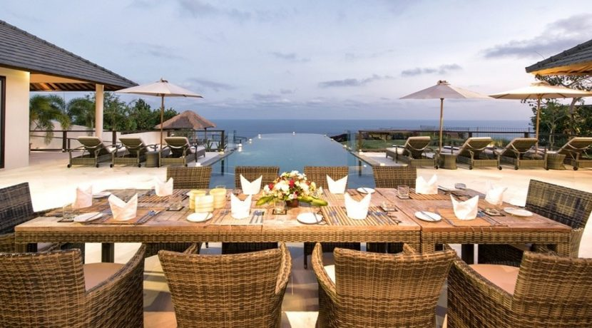 Villa Bale Agung - Dining Room