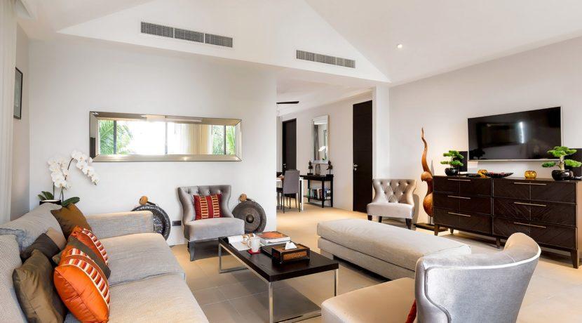 Infinity Blue Phuket - Designer touch living area
