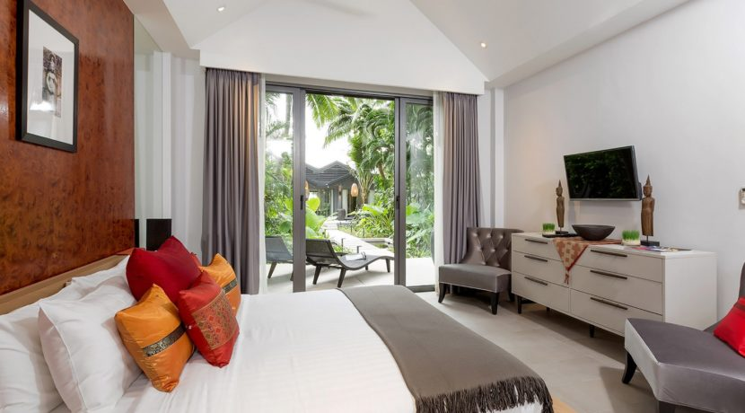 Infinity Blue Phuket - Green view from bedroom