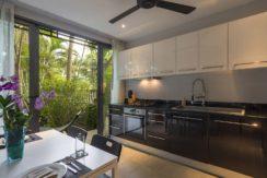 Infinity Blue Phuket - Kitchen and indor dining area