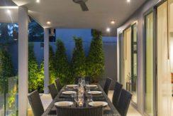Infinity Blue Phuket - Semi open air dining area