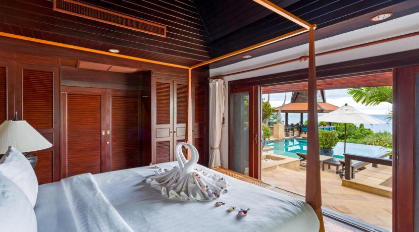 Villa Baan Hen - Bedroom Outlook