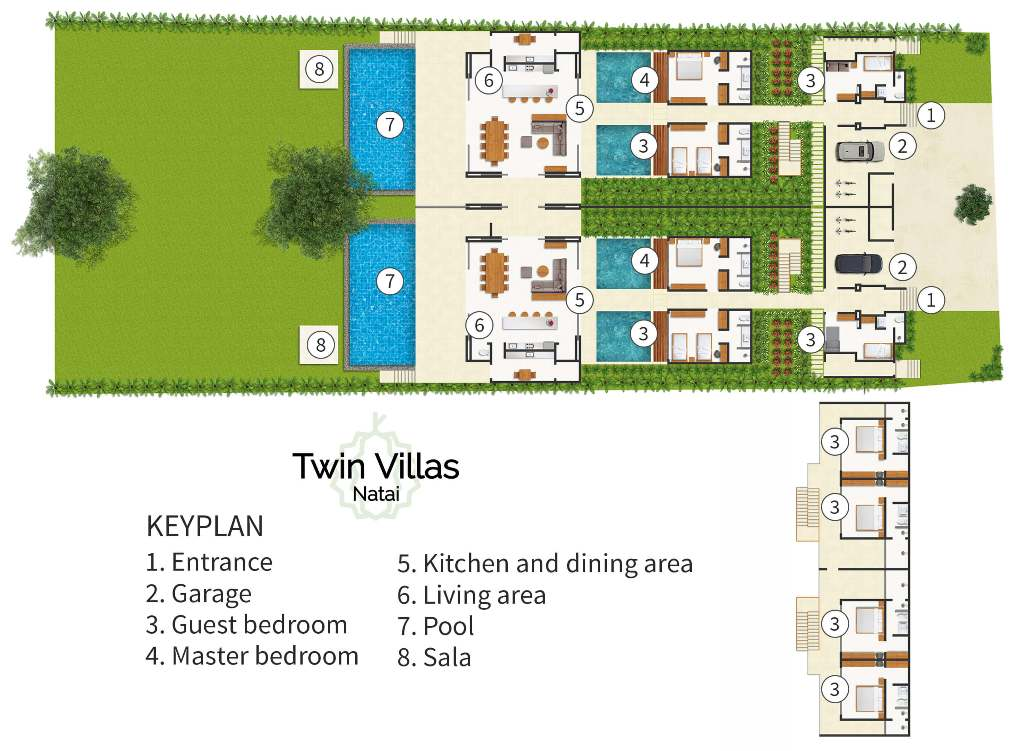 Twin Villas Natai