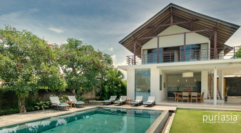 Villa Kavya - Villa from the Pool
