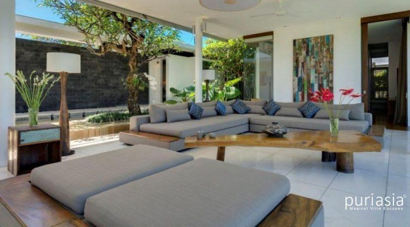 Villa Kavya - Living Room Area
