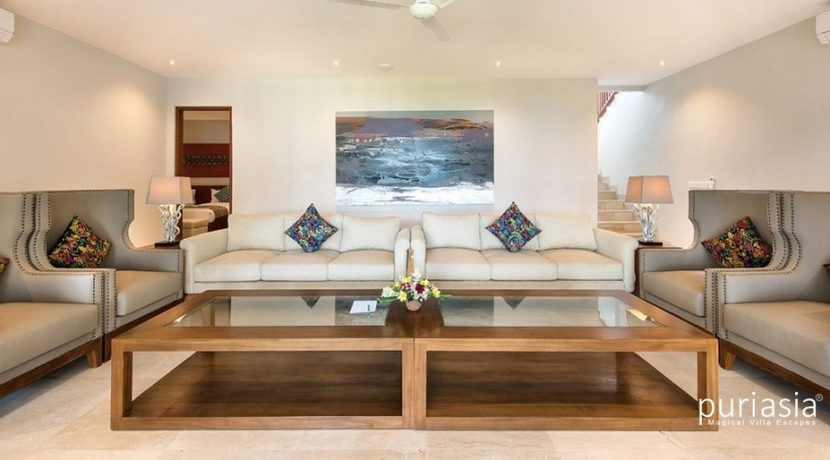 Villa Dewi Lanjar - Living Room