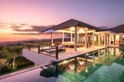 Villa Anahit - Pool and Villa at Night