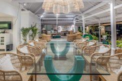 Villa Puri Balangan - Dining in Style