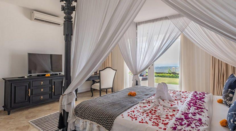 Villa Puri Balangan - Master Bedroom View