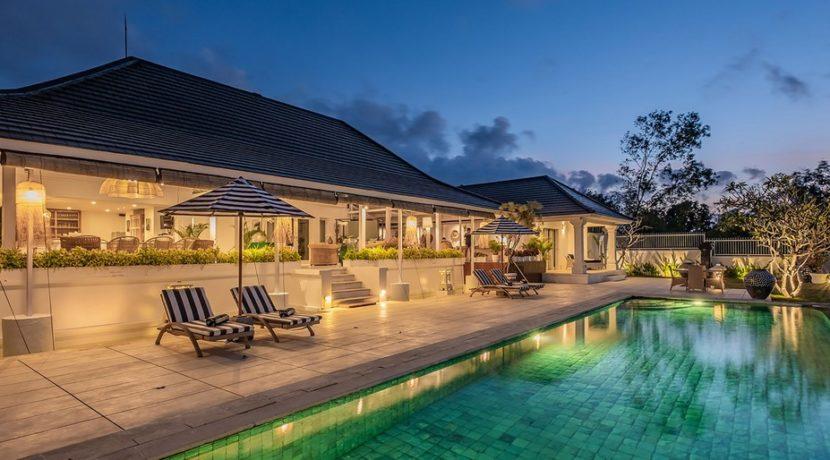 Villa Puri Balangan - Villa at Night