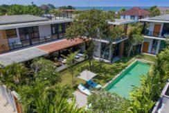 Canggu Beachside Villas - Villa Gu - Aerial view