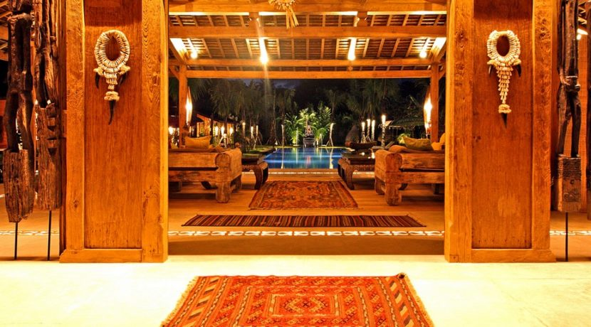 Villa Kayu - Villa at Night