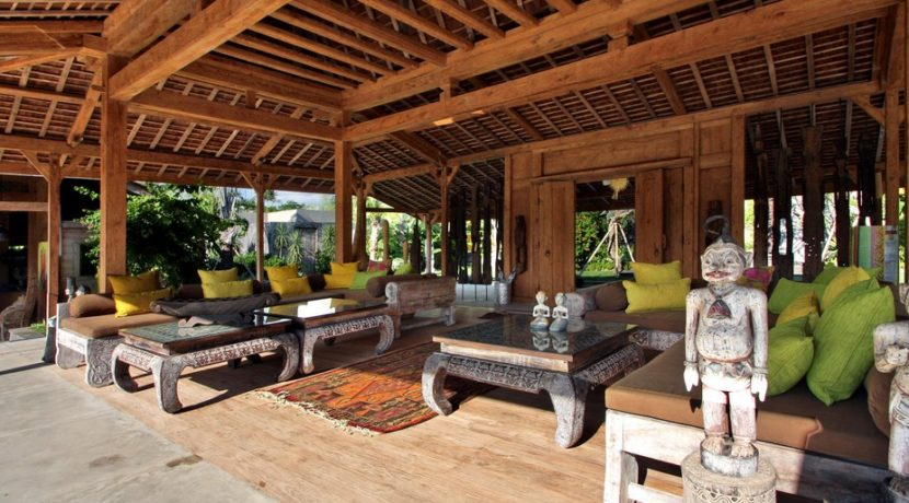 Villa Kayu - Living Room