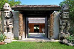 Villa Kalua - Enterance