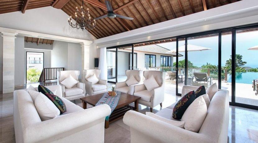 Villa Yamuna - Living Room Outlook