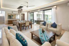 Villa Yamuna - Living and Dining Room