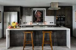 Baan Dalah Villa - Modern kitchen design