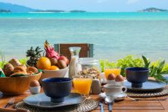 Baan Dalah Villa - Breakfast with dazzling view