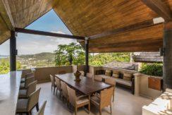 Avasara Residence - Poolside Dining Area